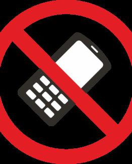 Telefon keelatud