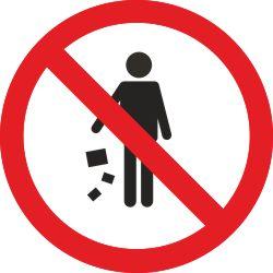 Prügi mahapanek keelatud