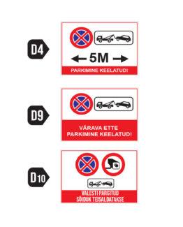 parkimine keelatud