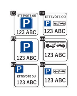 parkimiskoha tähis