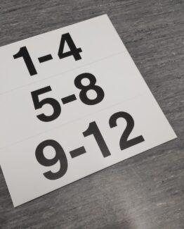 korteri numbrid